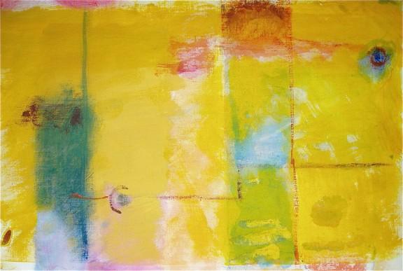 composizione giallo-blu